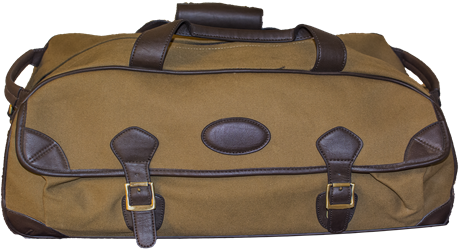 Canvas Läder Travel Bag